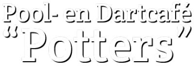 "Pool – en dartcafe ""Potters"""